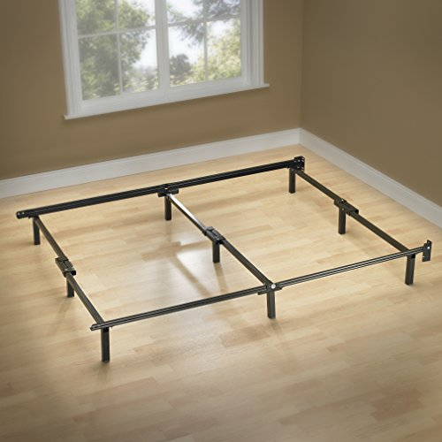 Zinus Michelle Compack 9-Leg Support Bed Frame, for Box Spring and Mattress Set, Full