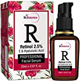 StBotanica Retinol 2.5% + Vitamin E, C & Hyaluronic Acid Professional Face Serum - 20ml - Anti...