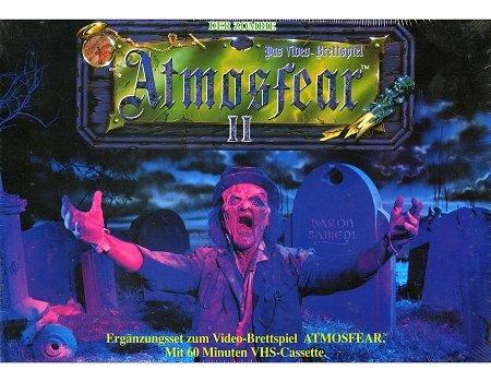 Atmosfear II - Ergänzungsset zum Videobrettspiel Atmosfear. Mit 60 Minuten VHS-Cassette.