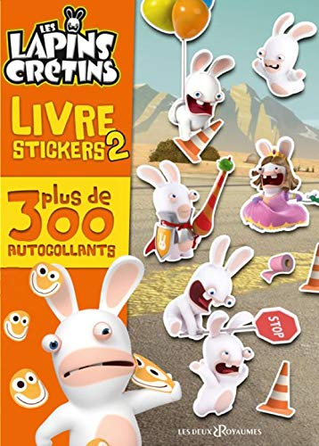 Livre stickers Lapins Crétins : Tome 2