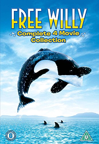 Free Willy: The Complete 4 Movie Collection [DVD] [1993]