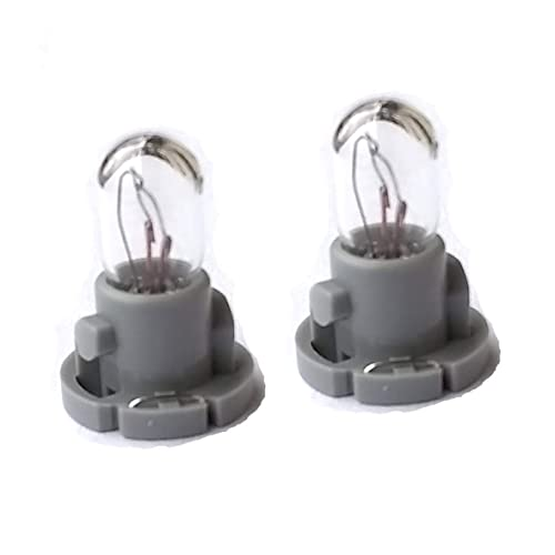 Compatible Dash Light Bulb Kit for Toyota Tacoma Heater A/c Climate Control (Set of 2 Bulbs)