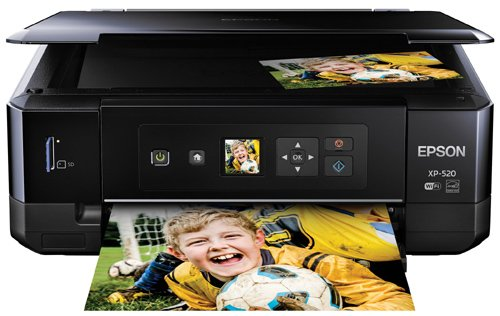 Epson Expression Premium XP-520 Wireless Color Photo Printer with Scanner and Copier