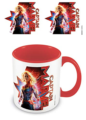 Captain Marvel - Taza Interior Red Earths Defender, 320ml