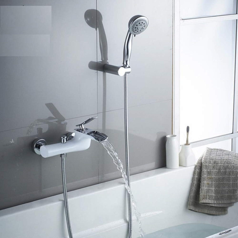 Dwthh Badewanne Armaturen Chrom Bad Dusche Set Wei Dusche ...
