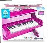 iDance MP 1000 Piano Digital Rosa 25 Llaves - Teclado electrónico (Batería, 5 W, AAA, 236 mm, 384 mm, 38 cm)