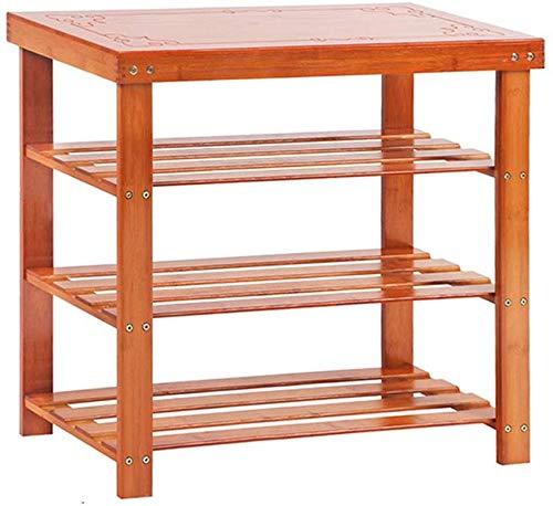 70 cm breed bamboe schoen bank opbergkast slaapkamer ingang gang staan stofdicht organisator eenheid 70x28x62cm