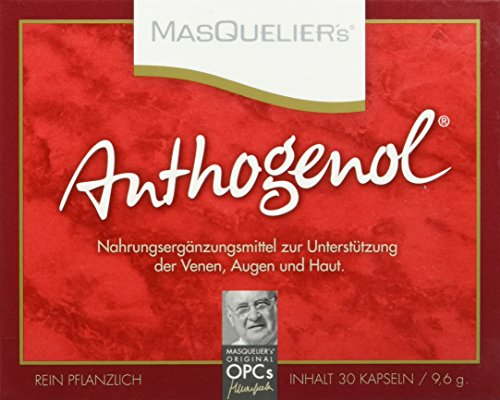 Masquelier\'s Original OPCs Anthogenol 30 Kapseln, 1er Pack (1 x 9,6 g)