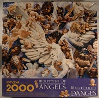Springbok Multitude Of Angels 2000 Piece Jigsaw Puzzle XZL9601