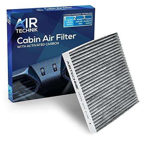 AirTechnik CF10729 Cabin Air Filter w/Activated Carbon | Fits Chrysler 200, Cirrus, Sebring/Dodge Avenger, Caliber, Journey/Jeep Compass, Patriot