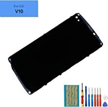 lg v10 digitizer with frame assembly