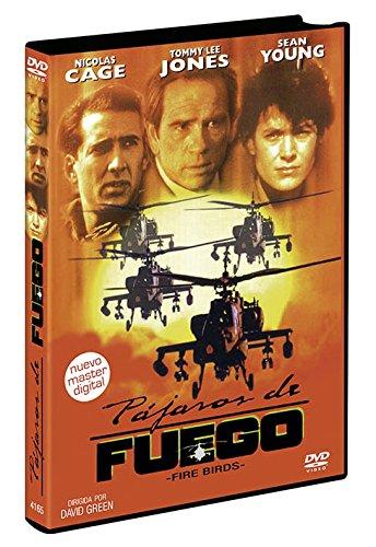 Pájaros de Fuego DVD 1990 Fire Birds (Wings of the Apache)