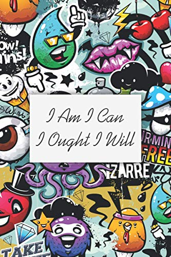 I Am I Can I Ought I Will: Black To Do Homeschool Planner Journal With Checklist Page, Charlotte Mason Quote Motivational Notebook, Homeschooler Diary ... Gratitude, Writing, Travel, Goal, Bullet