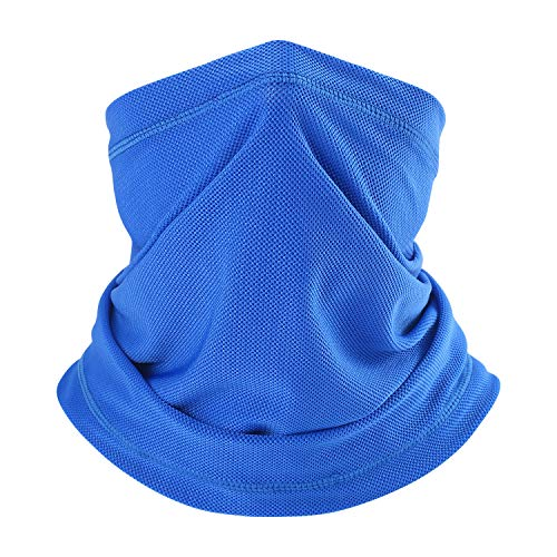 Summer Neck Gaiter Sun UV Protection Face Mask Breathable Coolskin Thin Bandana for Fishing Hiking Motorcycling
