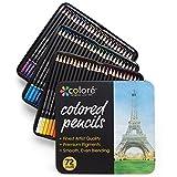 Colore Buntstifte - 72 Premium-Farbstifte, vorgespitzt fürs Zeichnen und für...