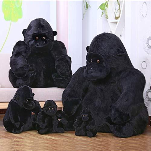 Grote Chimpanzee pluche speelgoed aap pop kinderkamer aap kussen jongen en meisje verjaardagscadeau