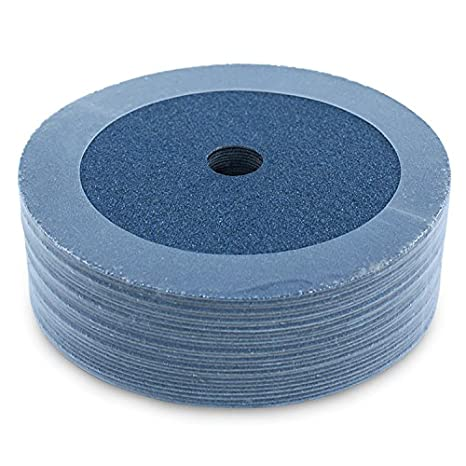 2 Packs of 25 36 Grit 4 1//2 by 7//8 Zirconia Grinding /& Sanding Discs