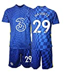 CHTG Kinder New HAVERTZ No.29 Fußball Trikot Schnell trocknende Sportbekleidung (28)