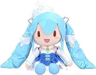Sega Hatsune Miku Series Special Fluffy Stuffed Toy Soft Plush Snow Miku 2019
