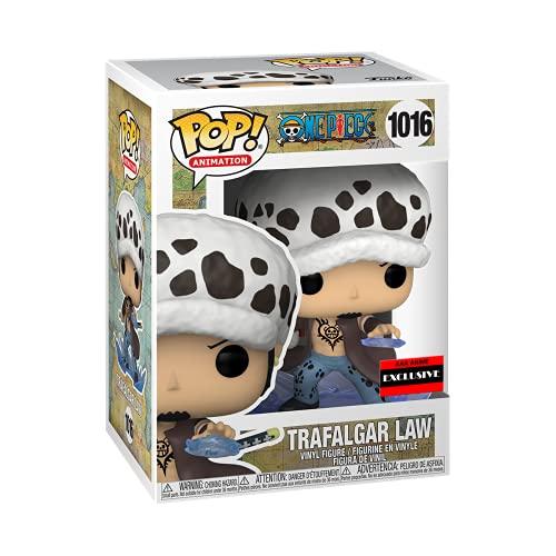 Funko Figura Pop Trafalgar D. Law (habitación) de una pieza (AAA Anime Exclusive)