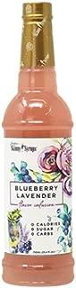 Jordan's Sugar-Free Skinny Syrup, Large 25.4-oz. Bottle (Blueberry Lavender)