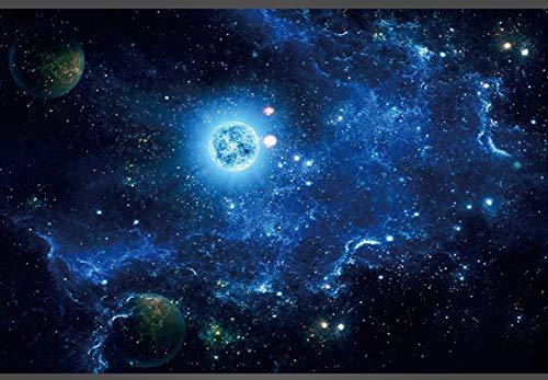 TMEET Nizza Wandaufkleber, 3D Starry Galaxy Kreative Tapetenaufkleber, Stereo Ktv Science Fiction Universe Motivwand Internet Bar Deckenwandpapier, Stil 5, M