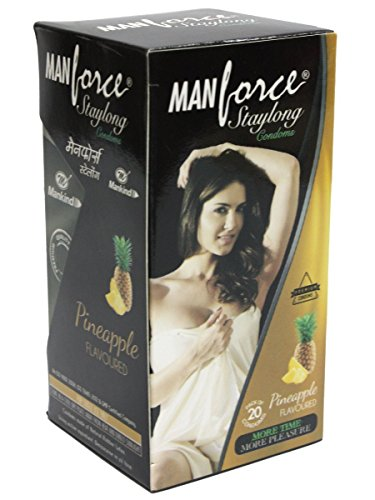 MANFORCE PINEAPPLE CONDOM 10PC – CONCEAL PACKING