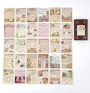 Vimax - Assorted Stickers - Fairy & Elf Matchbox Diary Stickers Retro Stamps Scrapbooking Korean Sticker Label 60pcs/box (6)