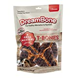 DreamBone Grill Masters T-Bones 5Count, Rawhide-Free Chews for Dogs, Multicolor