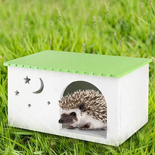 Aoca Casa para Mascotas, cabaña para erizos, cabaña para Conejillos de Indias para Mascotas Ratones hámster
