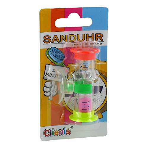 CLIENIS Sanduhr 1-3 Minuten Zahnputzuhr 1 Stück