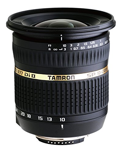 Tamron AF 10-24 mm f/3.5-4.5 SP Di II LD Aspherical (IF) Objektiv für Digitale Spiegelreflexkameras, Pentax, schwarz, None