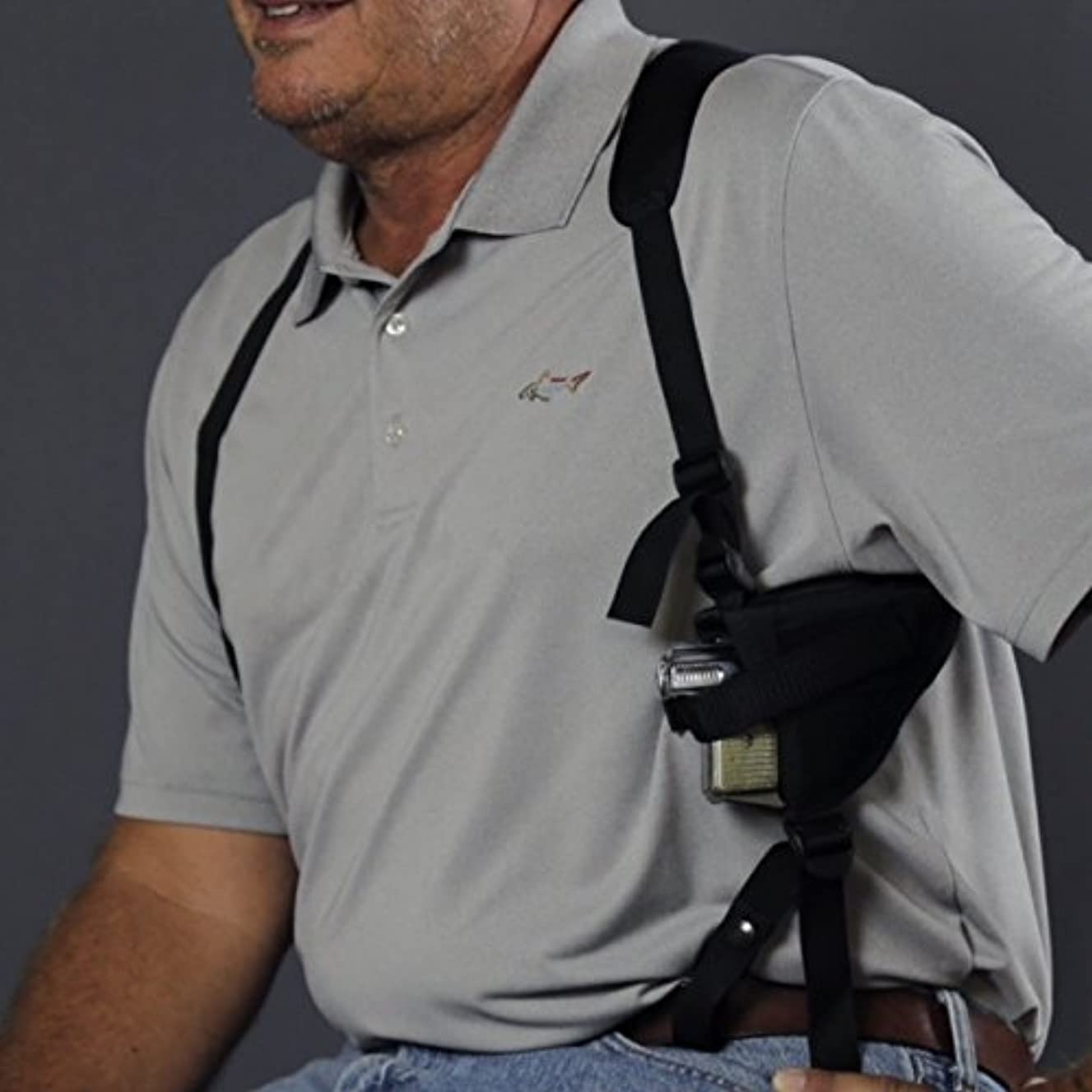 Gun Holster Shoulder TAURUS TH9C COMPACT PISTOL 1-TH9C031 3.54