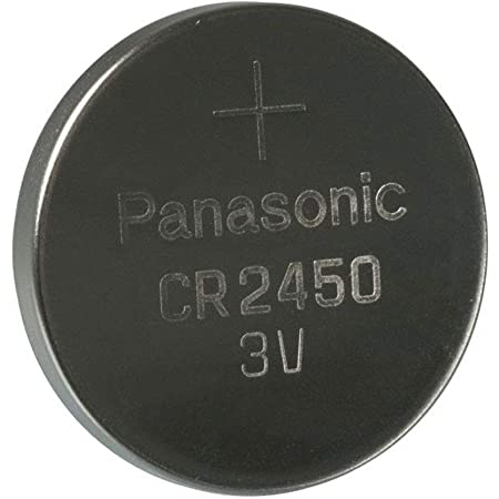 Panasonic 3 Stück Highenergy 1 Knopfzelle Cell Power Cr2450 Lithium 3 V Bürobedarf Schreibwaren