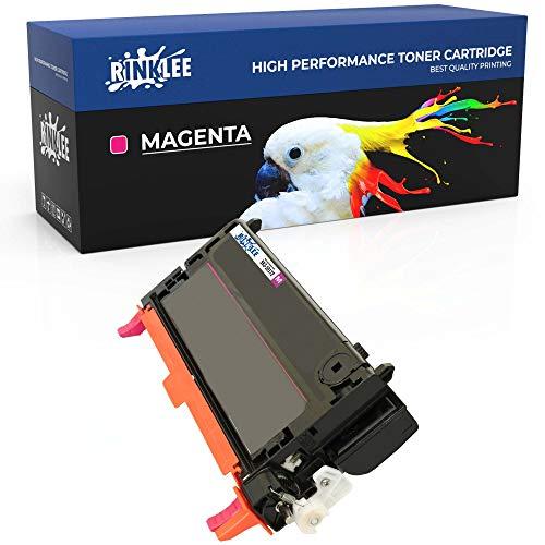 RINKLEE 593-10172 Cartucho de Toner Compatible para DELL 3110 3110CN 3115 3115CN | Alta Capacidad 8000 Páginas | Magenta