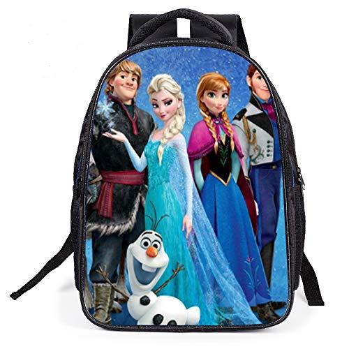 Mochila Elsa de Frozen de Disney Princess, cómoda y elegante, mochila escolar, regalo para el colegio