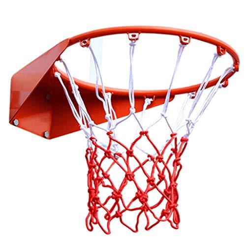 LZL Concurso al Aire Libre Baloncesto Juvenil de Baloncesto, 18 '' Muebles de Servicio Pesado Montado en la Pared Rot de Baloncesto para Exteriores GOL de Baloncesto para niños para niños Adulto