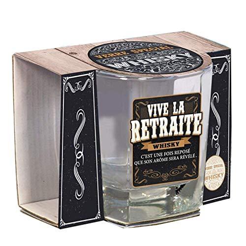 Verre Spécial Whisky - Vive la Retraite