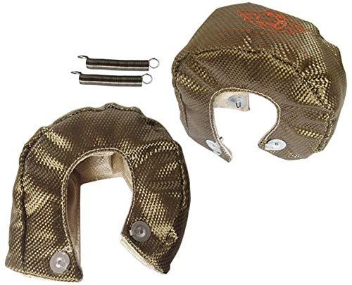 Epman Racing T3 Titanium Turbo Blanket Wrap Cover Heat Shield Barrier 1800 Degree Temp Rating