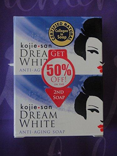 Kojie San Dream White ANTI-AGING/WRINKLE Soap (135g) by Kojie San