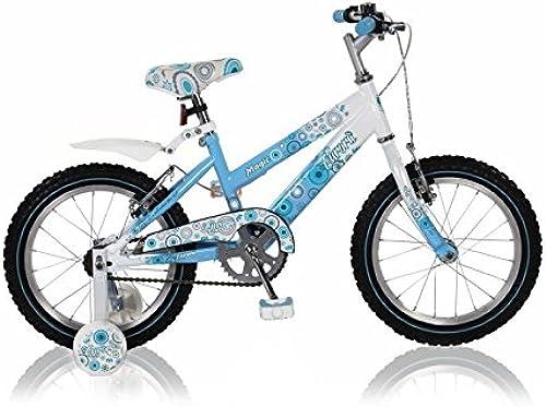 16 16  Zoll fürrad Bike Rad Kinderfürrad mädchenfürrad Kinderrad Aurora BLAUWeiß