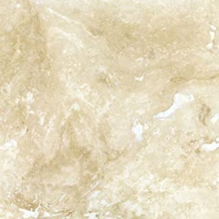 Ivory Commercial Travertine 12 X 12 Filled and Honed Field Tile