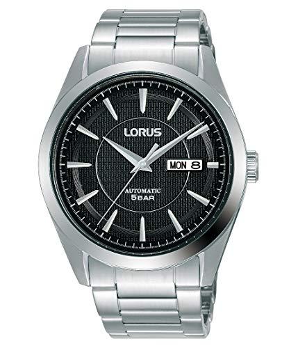 Lorus Klassik Herren-Uhr Automatik Edelstahl mit Metallband RL441AX9