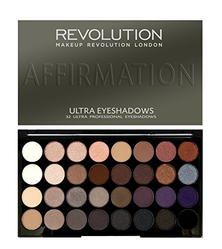 MAKEUP REVOLUTION Ultra 32 Shade Eyeshadow Palette Affirmation, 20 g