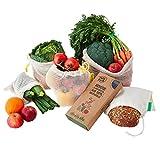 FullyFresh! | 100% BIO | Wiederverwendbare Obst- & Gemüsenetze