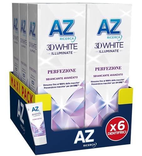 AZ Dentifricio 3DWhite Illuminate Perfezione 50ml Confezione da 6