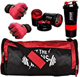 5 O' CLOCK SPORTS Premium Quality Sports Combo of Gains Bag Gym/Fitness Kit/Combo/Gym