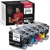 5 cartuchos de impresora compatibles con Brother LC223 LC-223XL LC 223 para Brother MFC-J4625DW J480DW J5320DW J4420DW J5620DW DCP-J4120DW J5620DW MFC-J5625DW J880DW (2xBK, 1xY, 1xM, 1xC)