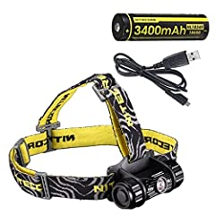 Purpose-designed for hiking, climbing, camping and general outdoor recreation All metal high-performance dual-beam headlamp Aluminum unibody construction is highly rugged and provides excellent cooling performance Utilizes a premium CREE XM-L2 (U2) L...