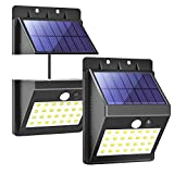 T-SUN 28 LED Detachable <span class='highlight'>Solar</span> Motion Sensor Light, <span class='highlight'>Solar</span> Powered Security Light, Wireless Waterproof Outdoor Wall Light <span class='highlight'>with</span> 3 Intelligent Modes-Separately Installed for Outdoor/Indoor.(Pack of 2)
